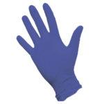 Перчатки нитриловые фиолетовые 02