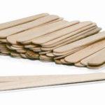 шпатель деревянный для наращивания ресниц 01