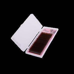 темно-коричневые ресницы