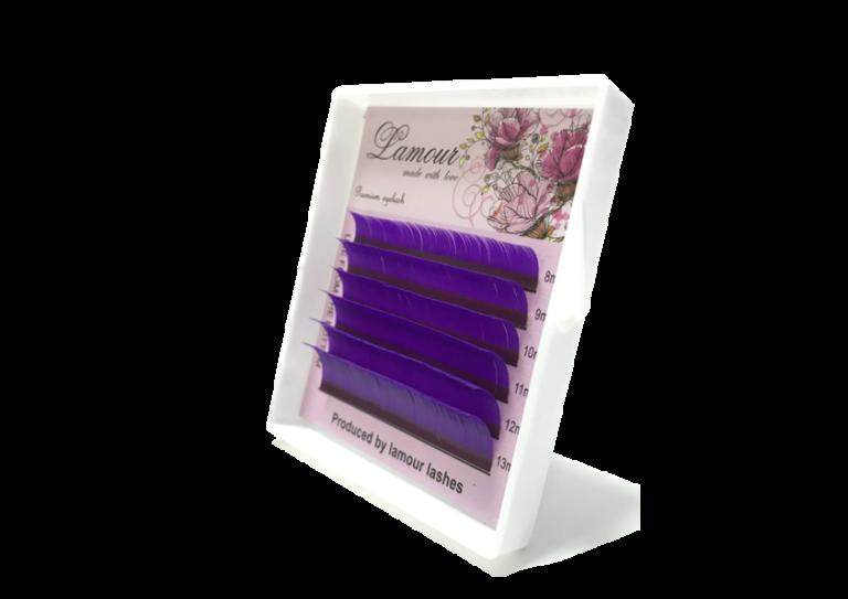 фиолетовые