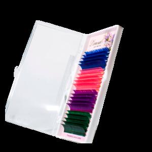 Цветные ресницы Smix