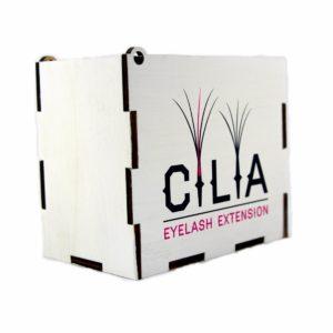 LashBox для наращивания ресниц WHITE