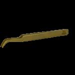 Пинцет для наращивания ресниц GOLD