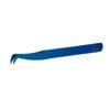 Пинцет для наращивания ресниц Cilia Mega Z Blue