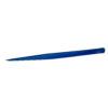 Пинцет для ресниц острый Cilia IQ Blue